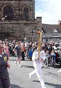 olympic torch eastgate warwick