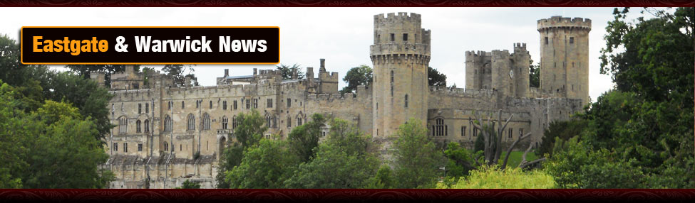 warwick castle in summertime, the latest news